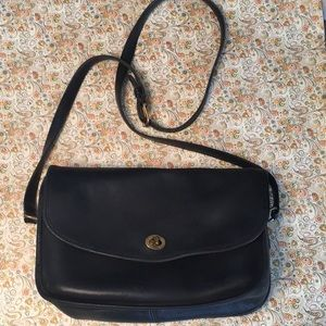 COACH Vintage Saddle Crossbody Bag
